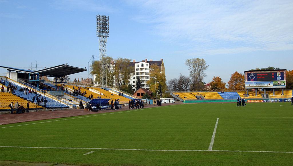 На стадіоні «Авангард» відбудеться товариський матч.