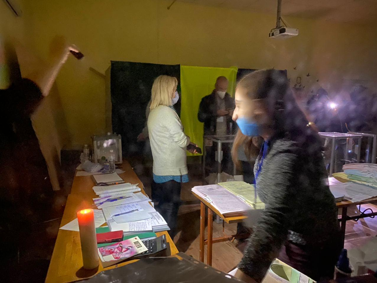 В Ужгороді на одній із дільниць немає світла.