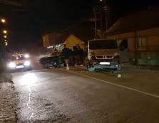 У Виноградові сталася ДТП: зіткнулися легковик та мікроавтобус (ФОТО)