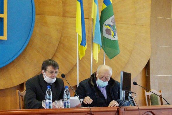 Во вторник, 24 ноября, состоялось заседание первого заседания Тячевского райсовета восьмого созыва.