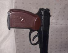 У водія легковика в Нижніх Воротах патрульні знайшли пістолет і ніж