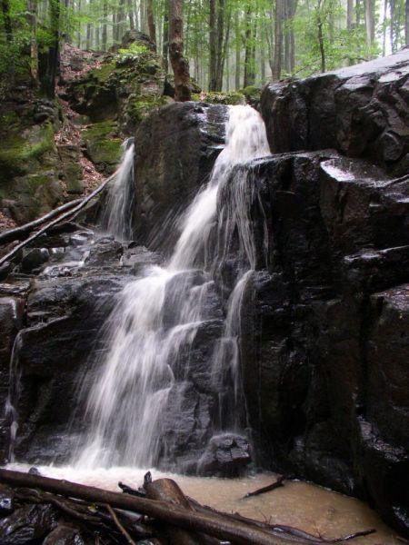 Городиловский водопад расположен за несколько километров на север от села Заречное, который входит в состав Хустского горсовета.