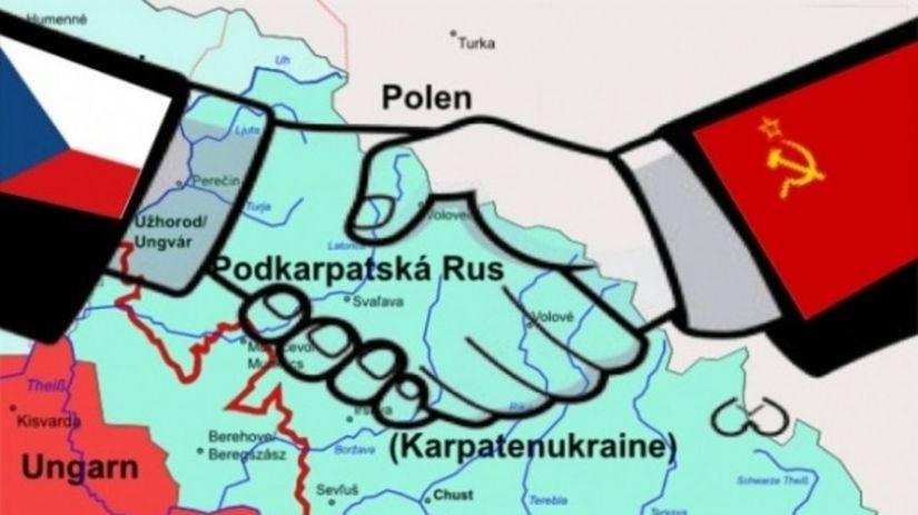 З історії ще Підкарпатської Русі, яка під час Другої світової війни, попри міжнародні домовленості, була анексована Радянським Союзом.