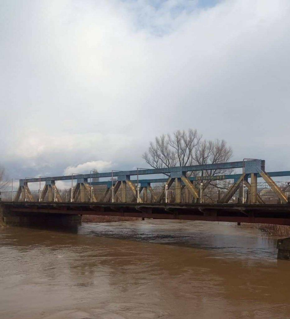 Інформація про водогосподарську ситуацію в басейні р.Тиса.