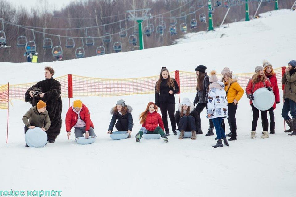 Спортивне свято відбулось на одному з гірськолижних курортів.