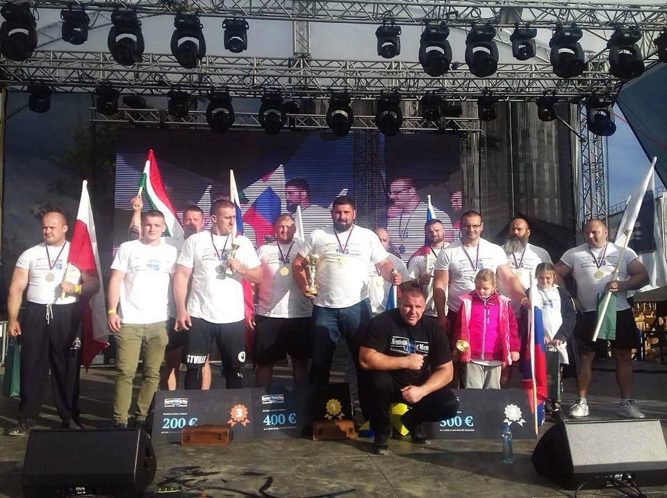 Закарпатський стронгмен переміг на турнірі в Словаччині