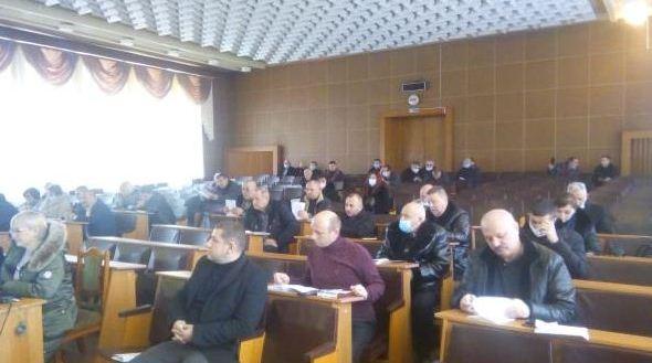 Сьогодні, 20 січня, о 10.00 розпочалося перше пленарне засідання другої позачергової сесії Тячівського районної ради восьмого скликання.