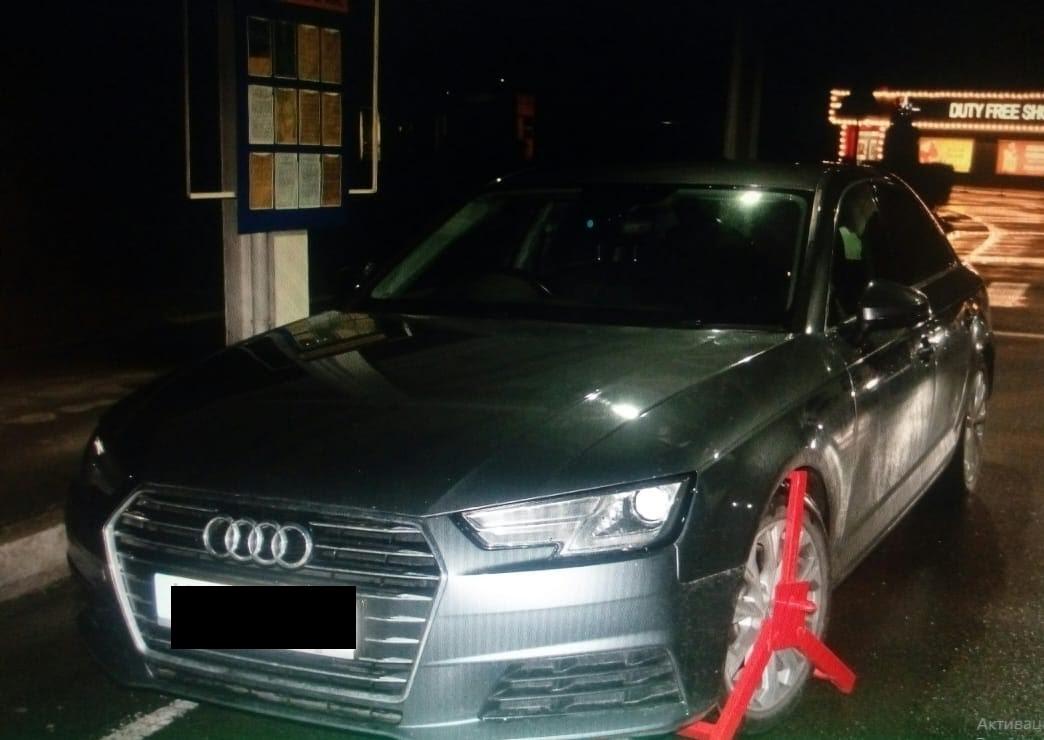 Цієї ночі в пункті пропуску «Солотвино, що на Закарпатті, прикордонники Мукачівського загону виявили автомобіль «Ауді А-4» 2015 року випуску, який розшукував Інтерпол.