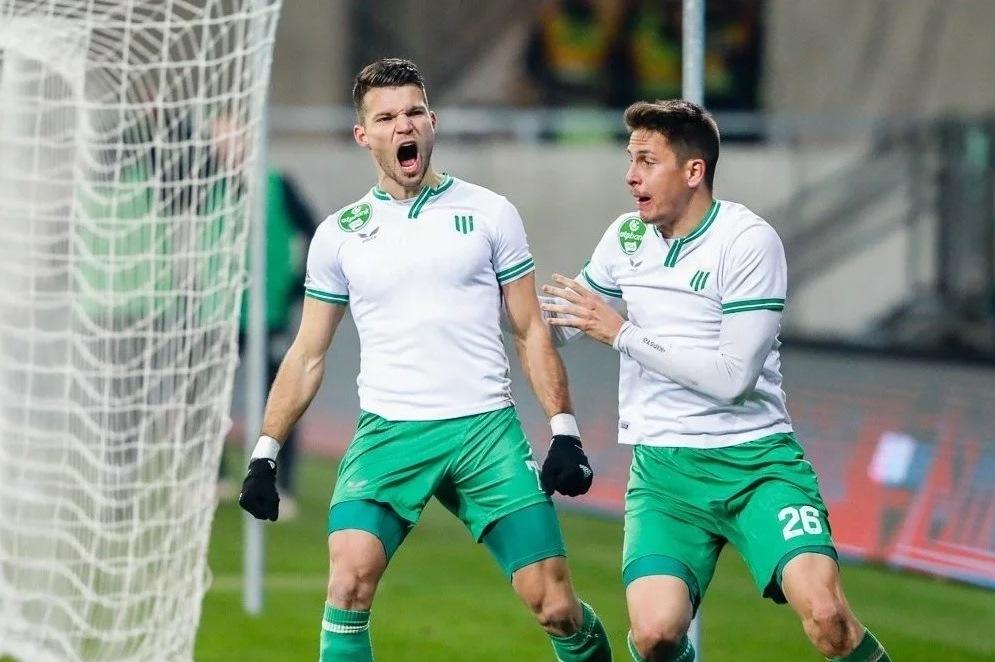 Контракт розірваний за взаємною згодою сторін, інформує офіційний сайт угорського ФК.