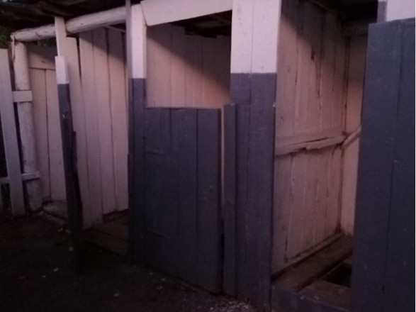 У селі Забрідь Хустського району Закарпатської області першокласник не провалювався у шкільний туалет, а лише вступив у нечистоти.