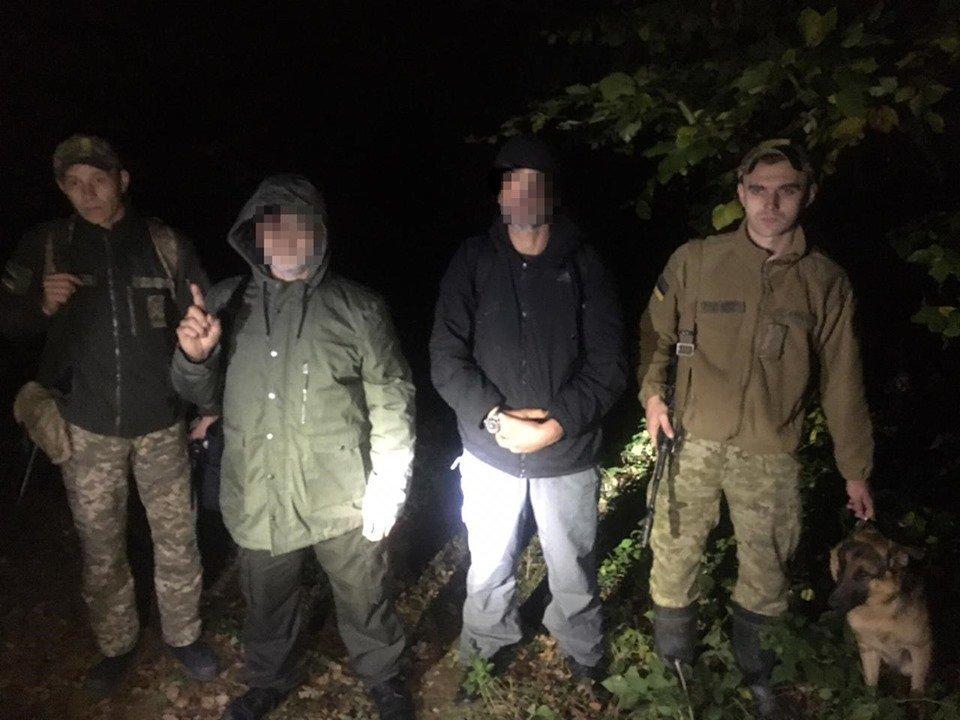 На українсько-словацькому кордоні затримали мандрівників, які мали на меті незаконним шляхом дістатись Словаччини.
