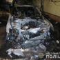 З'явилися деталі інциденту зі спаленими автівками екс-начальника СБУ в Закарпатській області