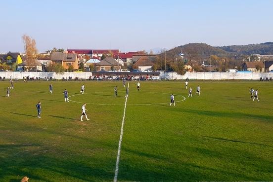 У неділю, 27 жовтня, на центральному стадіоні Іршавської ОТГ відбувся