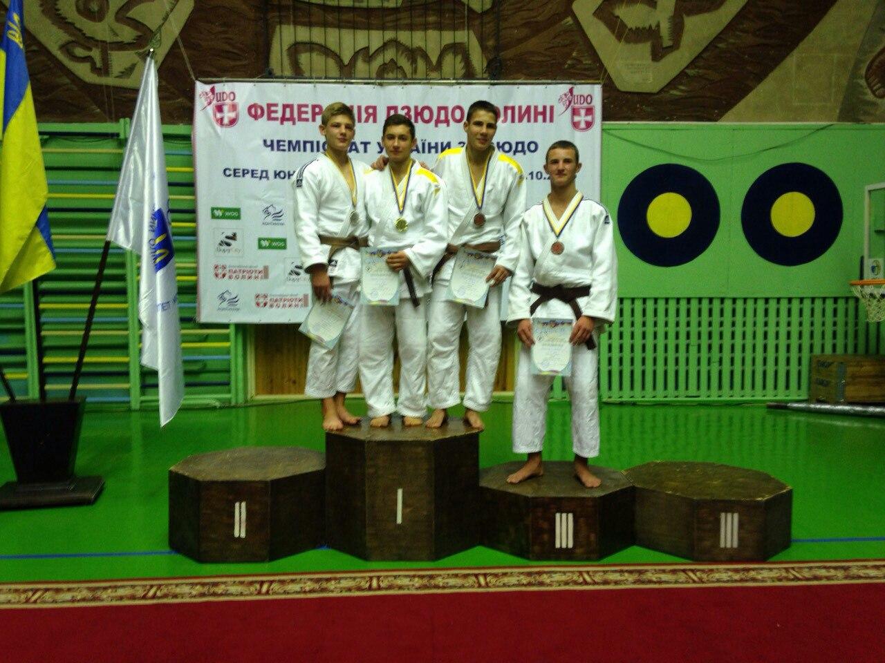 Закарпатець виборов срібну нагороду на Чемпіонаті України з дзюдо
