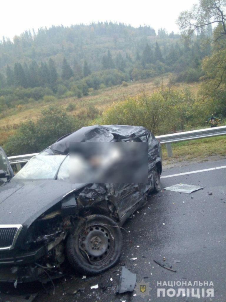 ДТП сталася 27 вересня в селі Козьова Сколівського району. В аварії загинув її чоловік.