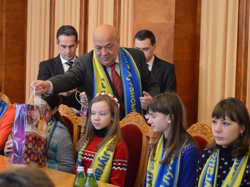 Группа из 28 детей и двух взрослых из Луганской области на десять дней приехала отдохнуть на Закарпатье.