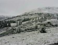 Драгобрат, Петрос та Піп Іван припорошило снігом