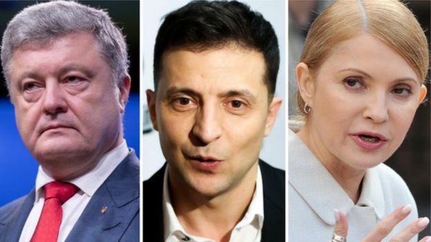 Лідером передвиборчих перегонів в Україні є артист Володимир Зеленський, якого готові підтримати 21,9% тих, хто визначився з вибором та готовий взяти участь у голосуванні.