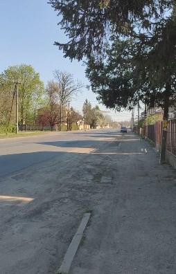 На видео показали улицу Ивана Франко в городе Виноградов.