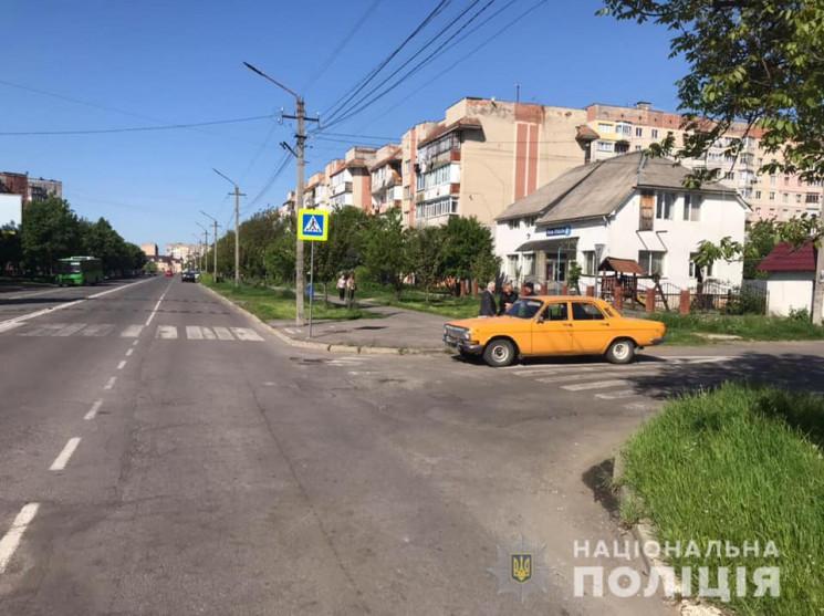 Аваря у Мукачеві трапилася вранці. Дівчину збило авто на пішохідному переході.