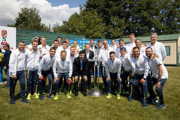 Ужгородець Сергій Булеца - учасник юнацької збірної України (U-20) з футболу, яка перемогла на чемпіонаті світу.