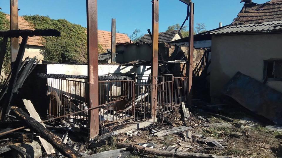 У Виноградові масштабна пожежа завдала збитків на 50 000 гривень