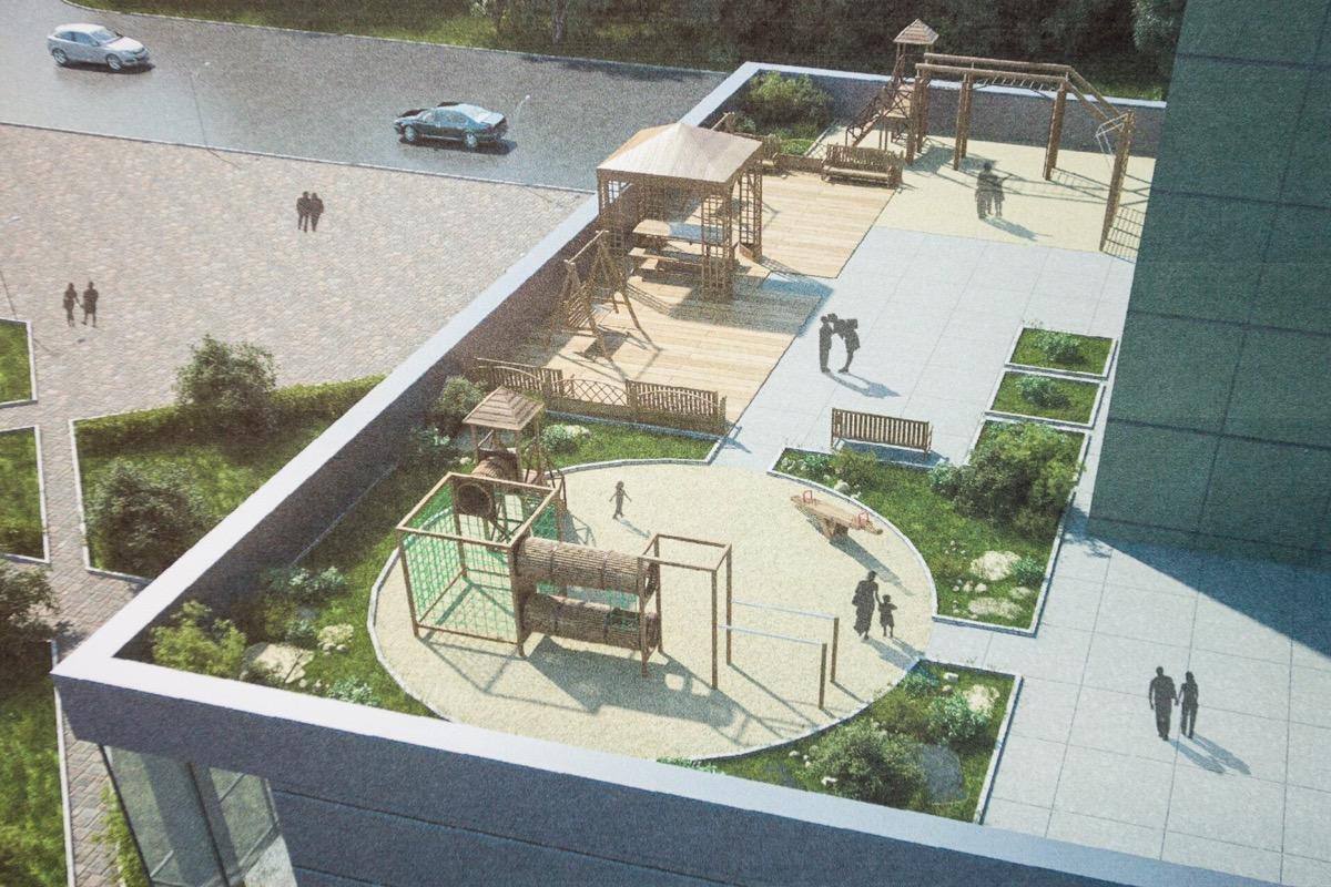 В Україні дозволили розміщення дитячих майданчиків на дахах споруд, це передбачають нові будівельні норми (ДБН), розроблені Міністерством регіонального розвитку, будівництва та ЖКГ.