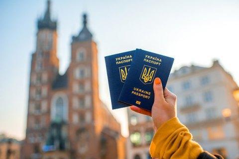 Українці зробили за цей час понад 33 мільйони поїздок до Європи.