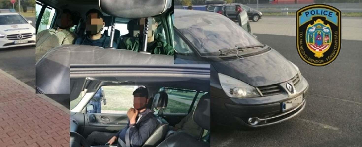 Його на автобані М 3 в напрямку до Будапешта зупинили для перевірки документів правоохоронці.