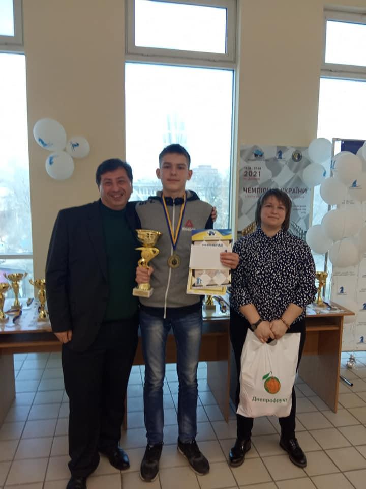 Мукачівець Вадим Петровський здобув «золото» на чемпіонаті України з шахів.