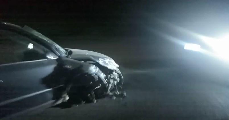Моторошне зіткнення лоб в лоб двох транспортних засобів трапилося вчора, 16 вересня, близько 21-ої години.