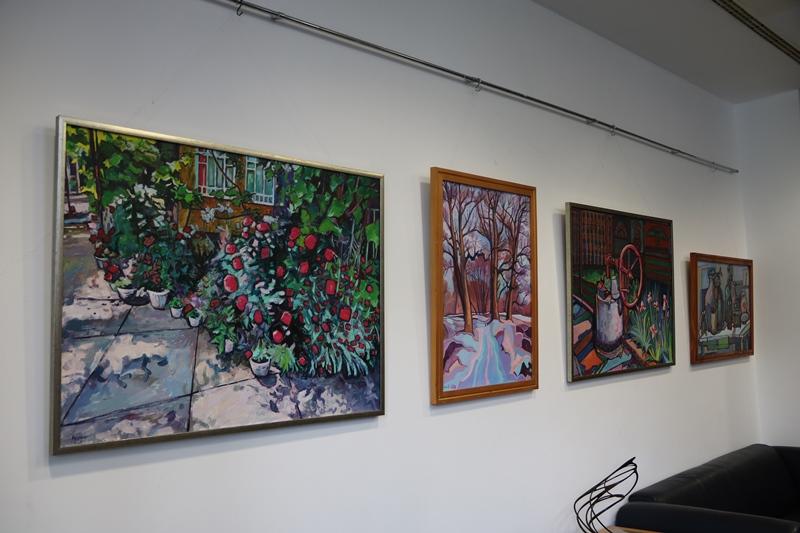Персональная выставка Габора Гомоки была представлена в выставочном зале Генерального консульства Венгрии в Ужхороде.