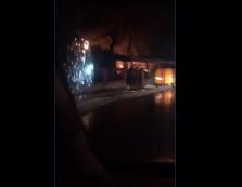Згорів магазин у Чорнотисові на Виноградівщині (ВІДЕО)