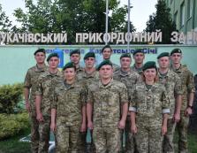 Дванадцять молодих лейтенантів прибули в Мукачево для проходження служби на кордоні