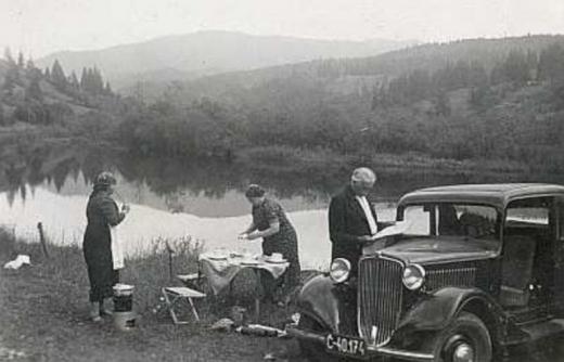 Ретро-фото озера Синевир 1938 року