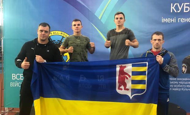 9-11 жовтня в Києві пройшов Кубок України серед дорослих імені генерала Кульчицького з військово-спортивного багатоборства.