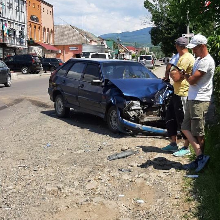 Дорожньо-транспортна пригода трапилася в селі Ільниця.