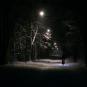 Вражаючі світлини нічного Ужгорода у полоні снігу підкорили мережу - соцмережі (ФОТО)
