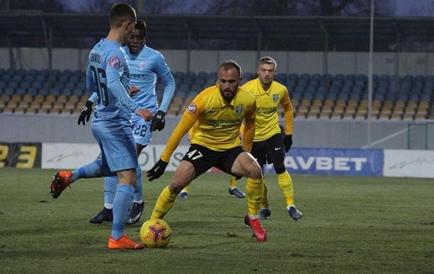 Олександрія на своєму полі розгромила Минай з рахунком 3:0 в матчі 15-го туру чемпіонату України.