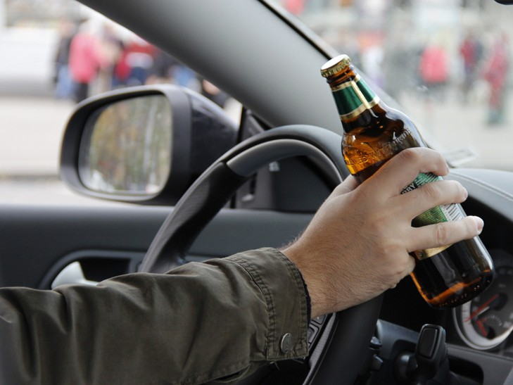 Протягом доби на Закарпатті затримали трьох нетверезих водіїв