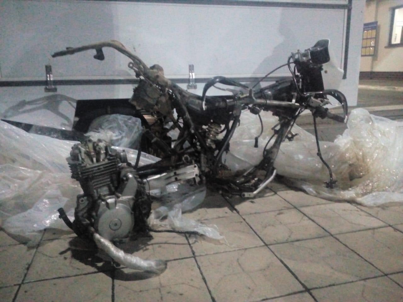 Сьогодні вночі прикордонники Чопського загону завадили спробі незаконного переміщення на територію України одиниці мототранспорту.
