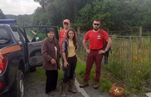 Мешканки села Циганівці Ужгородського району пішли до лісу збирати гриби й заблукали.