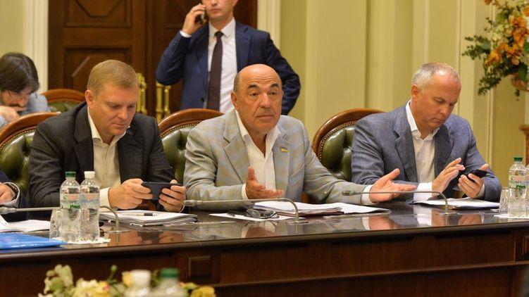 Виступ Рабиновича російською мовою спровокував перепалку на мовну тематику.