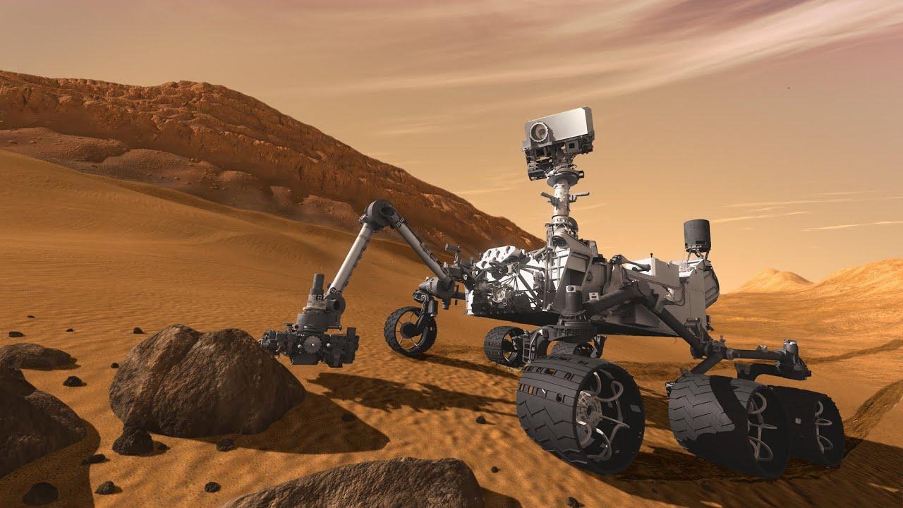 «К'юріосіті» підніметься на гору Марса