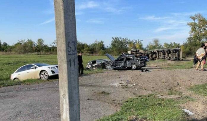 Масштабна аварія трапилася в селі Гать.