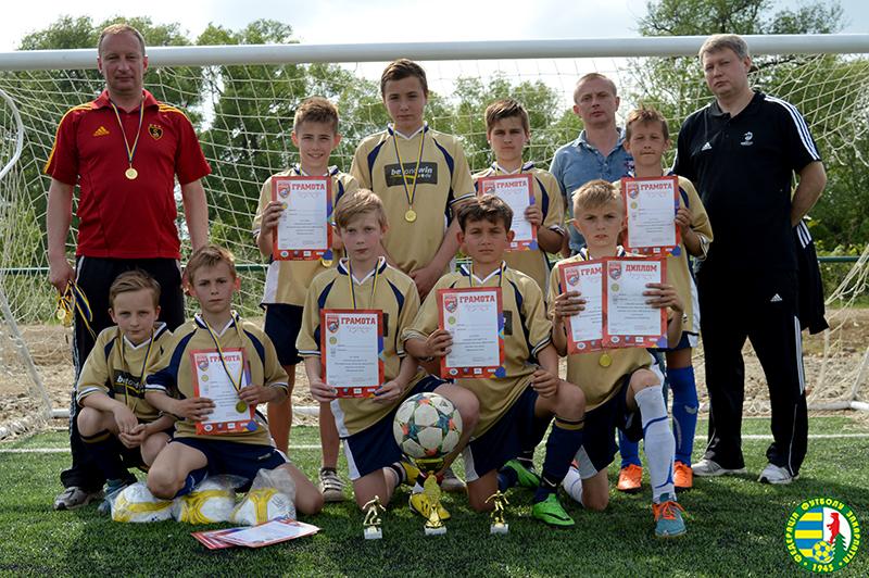 Молодці! Футболісти з Перечина перемогли у Всеукраїнському турнірі