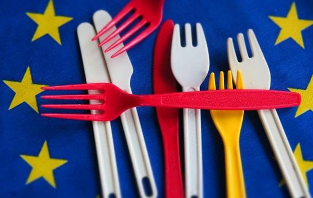 В Євросоюзі погодили заборону одноразового пластику