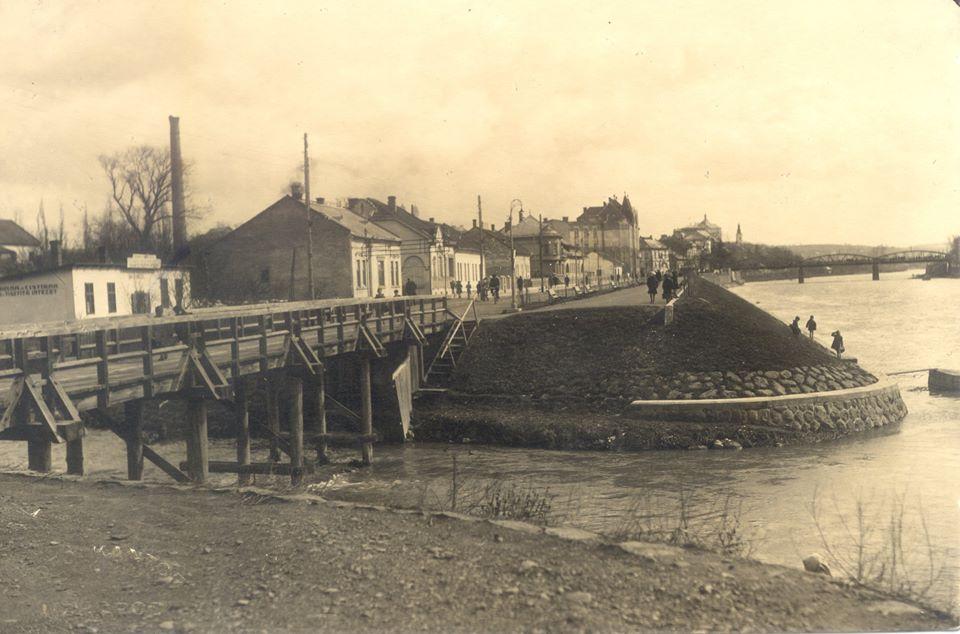 В мережі показали рідкісну світлину Малого Ужа в 1921 році в Ужгороді