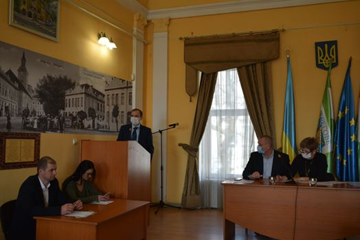 Відбулася позачергова 49 сесія Берегівської міської ради.