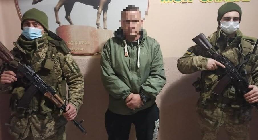 Громадянина Німеччини, який мав намір незаконно потрапити до Угорщини затримали сьогодні вранці військовослужбовці відділення «Велика Паладь» Мукачівського прикордонного загону.